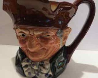 Royal Doulton Old Charley toby jug