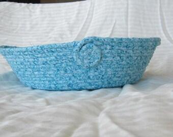 Blue Rope Basket