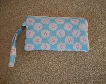 Wristlet Bag, Clutch, Handbag, Teavel Pouch