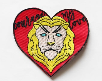 COURAGE MY LOVE Sew-On Patch
