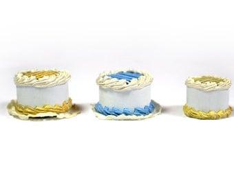 BULK 3 x Miniature Cakes