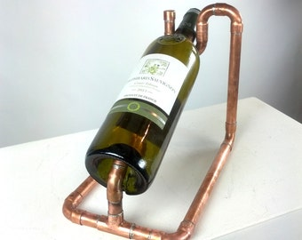 Wine bottle rack, bottle rack