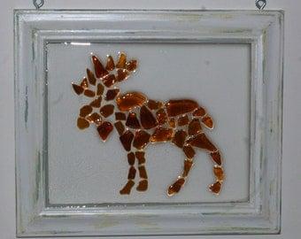 Sea glass moose