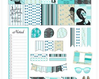 Audrey Hepburn Inspired Planner Stickers