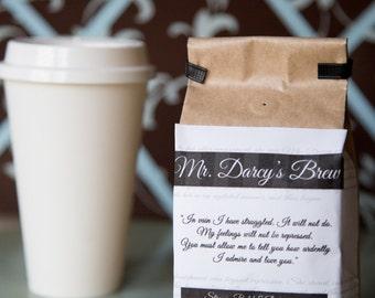 Pride and Prejudice Mr. Darcy's Coffee