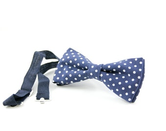 Pois bow tie made in Italy