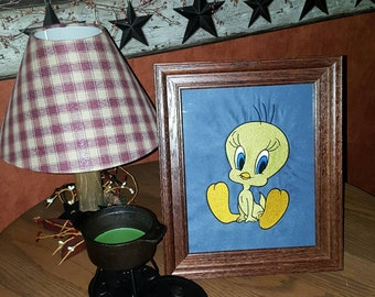 TWEETY BIRD Embroidered Picture, add a personal touch, when ordering ask