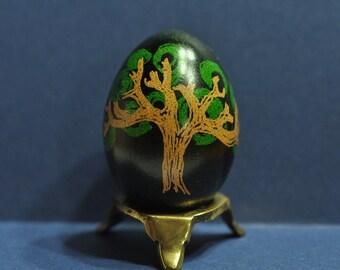 Oak Tree Ukrainian Egg, Pysanka, Pysanky, Art Egg