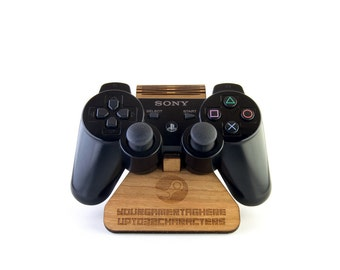 steuntje, Steam Inspired Plywood Playstation 3 Controller Stand