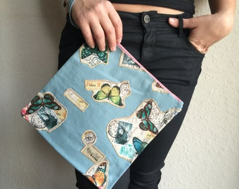 butterfly bag/fold over clutch