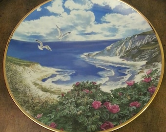 "Vintage Collectible Hamilton From Sea To Shining Sea plate ""Cape Cod"" 1988"