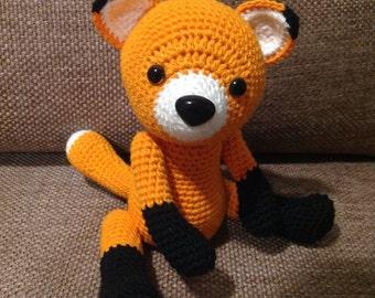 Crochet Fox amigurumi - woodland creature