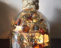 Lighted Silver Patron