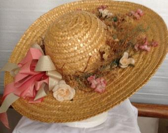 Straw Spring Hat