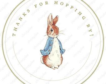 Beatrix Potter's Peter Rabbit Thank You - Digital File