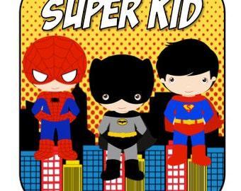 Super Kid iron on