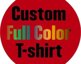 Custom Printed Men's Shirts | Custom Photo T-shirt| Personalized T-shirt | Custom T shirt | Custom Printed Mens Tee | Custom Designed Tee
