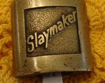 Slaymaker Brass Lock With Key