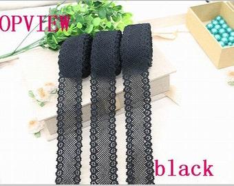 5yard 100% cotton lace Fabric furnishing warp knitting for cloth or bag Trim laces DIY Scrapbooking3.5CM
