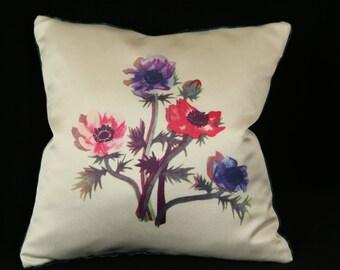 Flower Cushion: Anenome