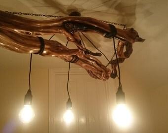 Modern Chandelier Style Ceiling Pendant Lamp Light Lighting driftwood chandelier