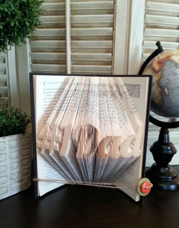 #1 Dad Book Fold