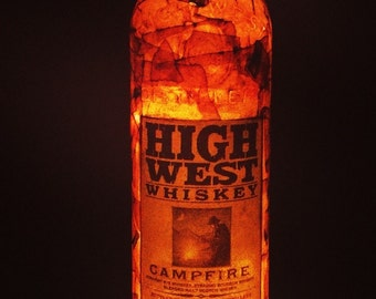 High West Whiskey Lamp