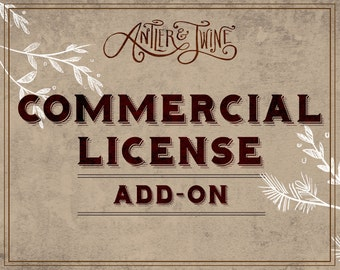Antler & Twine Commercial License Add-On