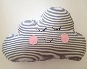 Cloud cushion handmade