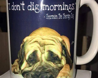 I Don't Dig Mornings Mug