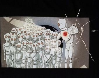 Puppets - Cotton T-shrit - High quality print - an original gift