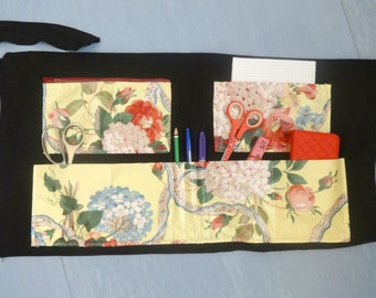 craft apron flower design