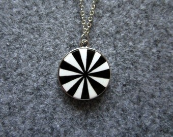 Circus. Necklace. Free shipping.