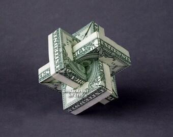UMULIUS RECTANGULUM Money Origami Art Dollar Bill Cash Sculptors Handmade Dinero
