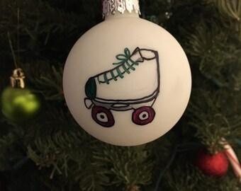Roller Derby Ornament