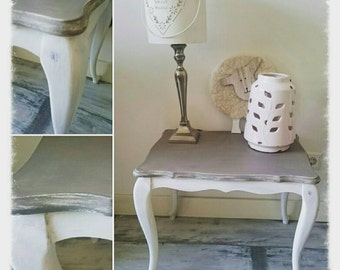 Brocante side table