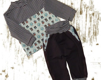 Set pants shirt 86/92