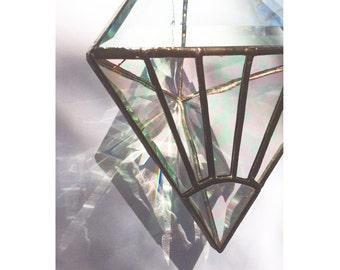 SunBurst Iridescent Clear Water Prism