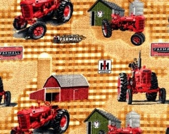 Farmall Fabric Etsy