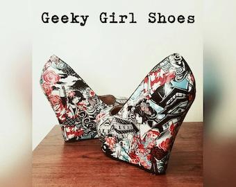 Anime Geisha shoes