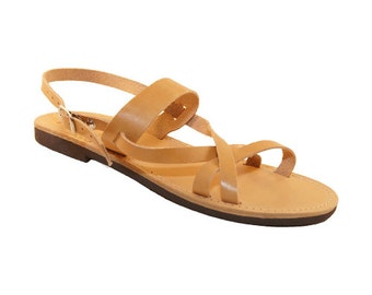 Iota leather sandals
