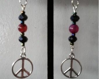 Tibetan Silver Peace Earring