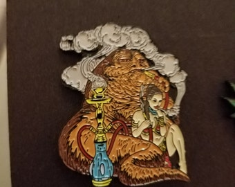 Jabba the Hutt hat pin