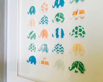 Kids Wall Art - Elephants