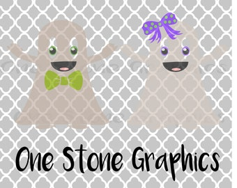 Ghost svg,Ghost DXF,ghosts,Halloween, Girl ghost,Boy ghost svg,Ghost with bow,cute halloween svg,kids halloween svg,spooky svg,ghosts svg