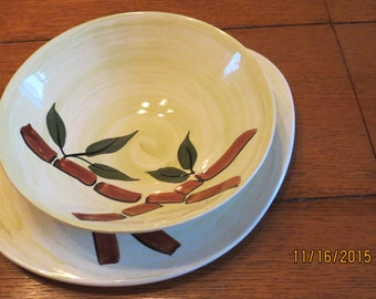 Blue Ridge Pottery Bamboo Made in the USA