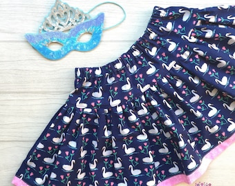 Girl's Swan Twirly Skirt