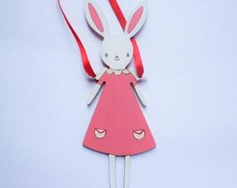 Wooden Honey Bunny