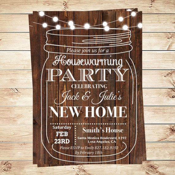 Housewarming bbq invite, Housewarming invitation templates ...