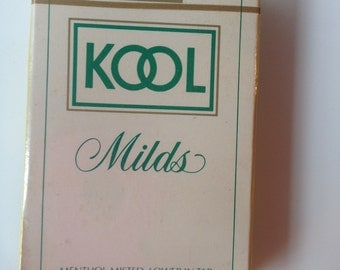 Vintage Kool Cigarettes Playing Cards Sealed Never Used